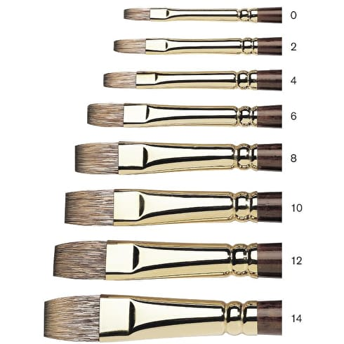 Winsor & Newton Monarch Flat Brush